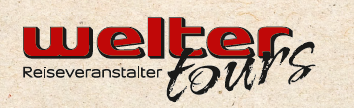 WELTER – TOURS  OHG Logo